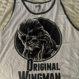 "Official Star Wars tank top "" original wingman"""